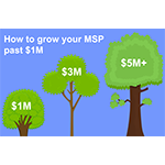 How to grow your MSP past $1M with Referrals, Google Adwords and Increasing Conversion